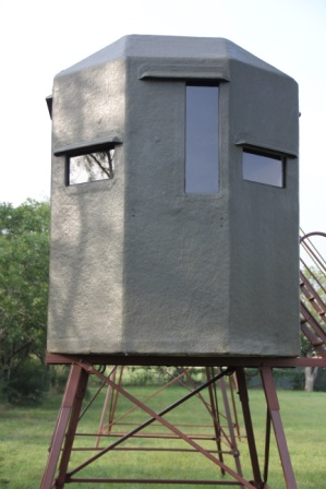 Steel Deer Blinds