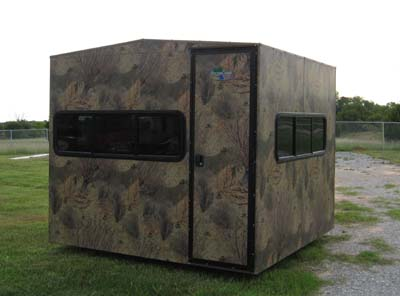 Deer Blinds And Deer Feeders